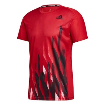 Adidas Graphic T-shirt Red