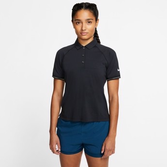 Nike Court Essential Polo Women's Black