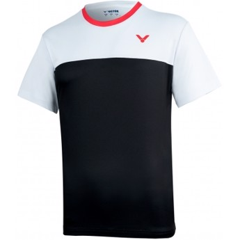 Victor T-Shirt T-05002C Black/White