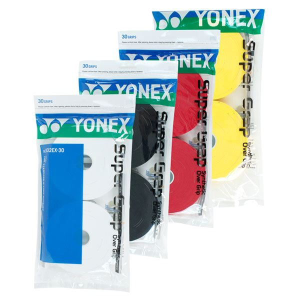 Yonex Super GrapPk30 WHT//BLK//Yell//Red message by Color buy 2 = $66 or 3 for $90