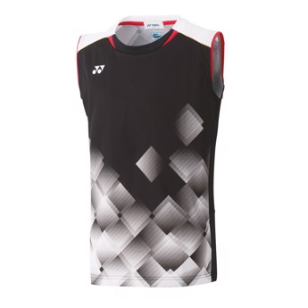 Yonex 10350EX Men?s Game Shirt Sleeveless Black