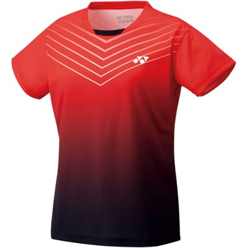 Yonex Mens Crew Neck Shirt 2021 Club Team YM0025EX Red