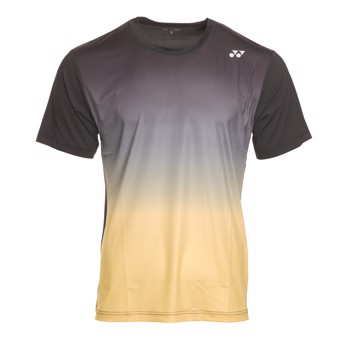 Yonex Polo Shirt Uni 20735 Black / Yellow