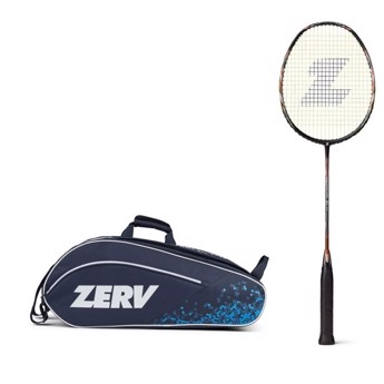 ZERV Badminton Package Offer (ZERV Conqueror 20S 2.0 + ZERV Cipher Bag Z9)