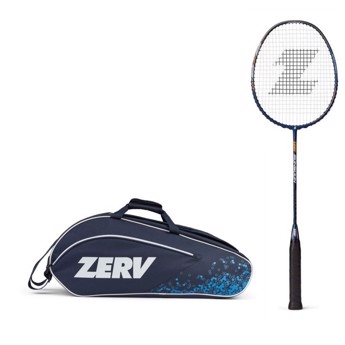 ZERV Badminton Package Offer (ZERV Monsoon + ZERV Hyper Bag Z6)