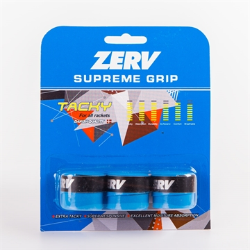 ZERV Supreme Grip Blue 3-pack