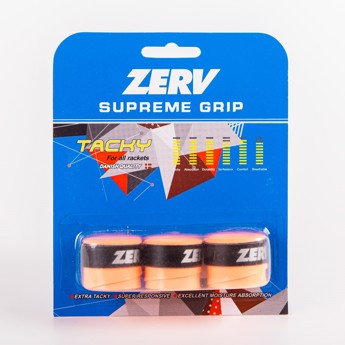 ZERV Supreme Grip Orange 3-pack