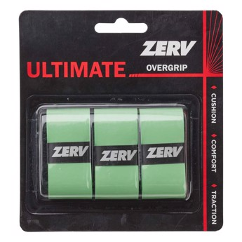 ZERV Ultimate Overgrip Green 3-pack