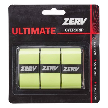 ZERV Ultimate Overgrip Yellow 3-pack