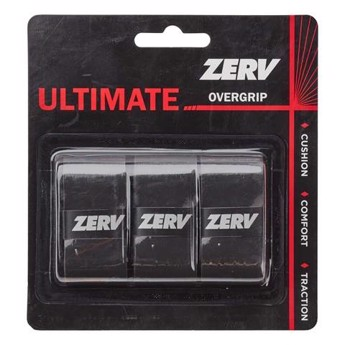 ZERV Ultimate Overgrip Black 3-pack