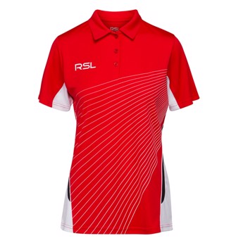 RSL A12609 Women's Polo Red