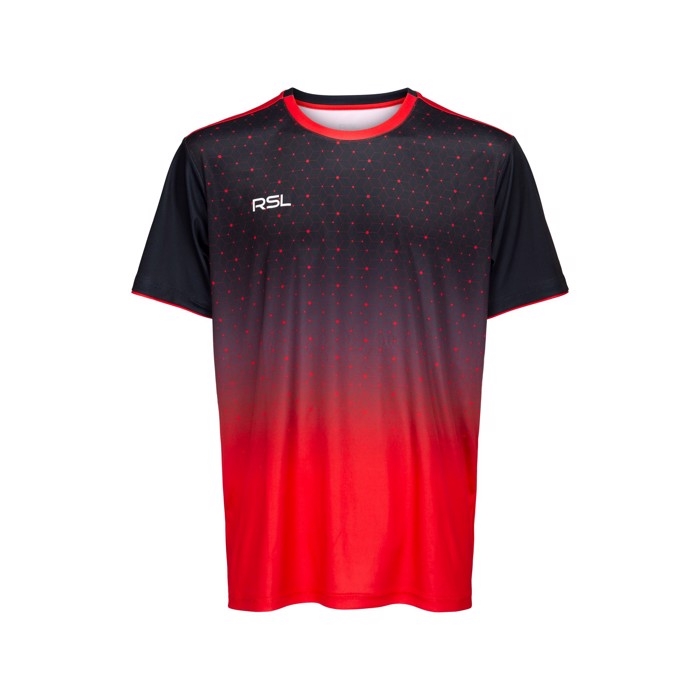 RSL Cassini T-shirt Black / Red