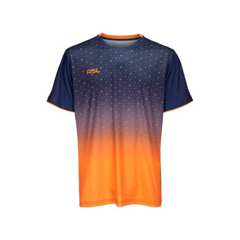 RSL Cirium T-shirt Navy/Orange