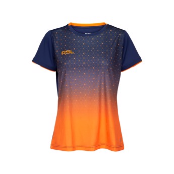 RSL Cirium Women's T-shirt Navy/Orange