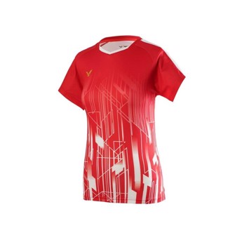 Victor Team Women's T-shirt Red T-01002